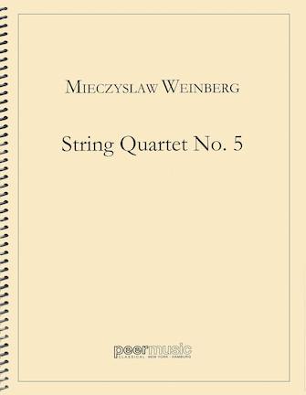 Product Cover for String Quartet No. 5