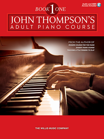 Product Cover for John Thompson's Adult Piano Course – Book 1
