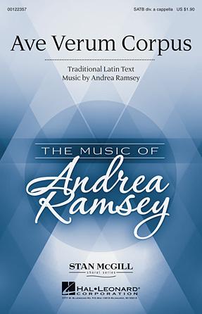 Ave Verum Corpus : SATB divisi : Andrea Ramsey : Andrea Ramsey : Sheet Music : 00122357 : 884088951344