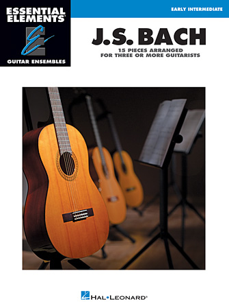 Product Cover for J.S. Bach – 15 Pieces Arranged for Three or More Guitarists