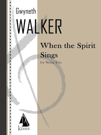 Product Cover for When the Spirit Sings