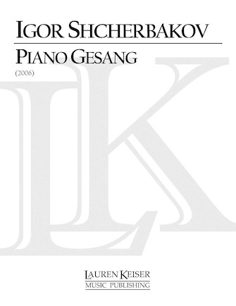 Product Cover for Piano Gesang