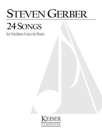 Product Cover for 24 Songs for Medium Voice and Piano