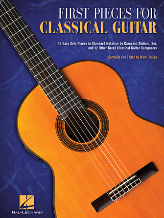Product Cover for First Pieces for Classical Guitar