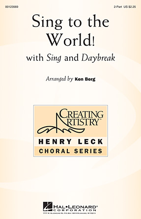 Product Cover for Sing to the World!