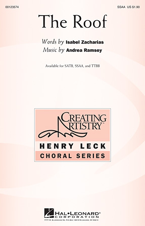 The Roof : SSAA : Andrea Ramsey : Andrea Ramsey : Sheet Music : 00123574 : 884088960438