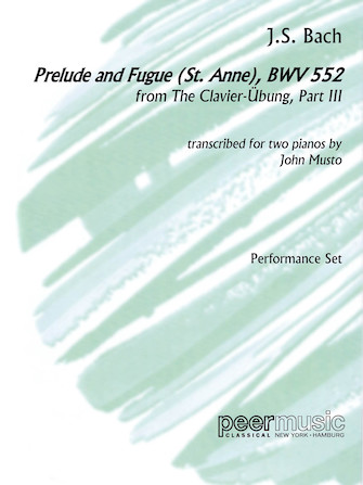 Product Cover for Prelude and Fugue (St. Anne), BWV 552, from The Clavier-Übung, Part III