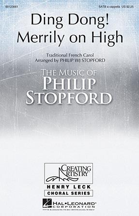 Ding Dong! Merrily on High : SSAATTBB : Philip Stopford : Sheet Music : 00123661 : 884088961190