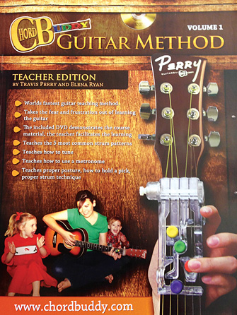 Product Cover for ChordBuddy Guitar Method – Volume 1