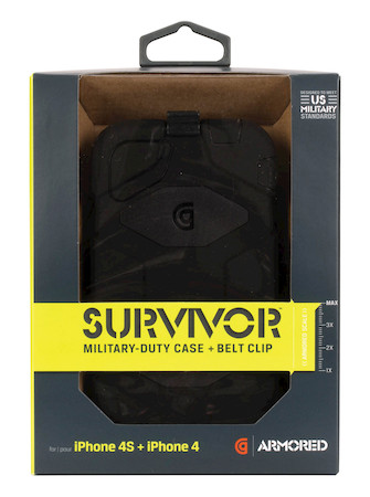 Product Cover for Survivor for iPhone 4S