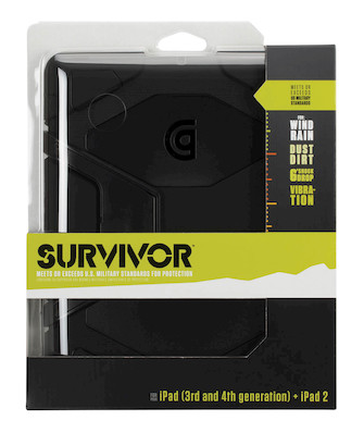 Product Cover for Survivor for iPad 2, iPad 3 and iPad (4th Gen)