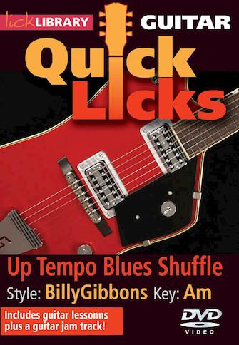 Up Tempo Blues Shuffle – Quick Licks