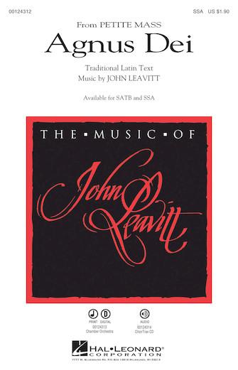 Agnus Dei : SSA : John Leavitt : John Leavitt : Sheet Music : 00124312 : 884088966096