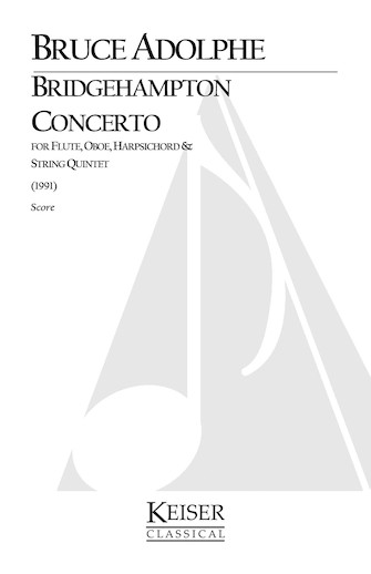 Product Cover for Bridgehampton Concerto for Mixed Octet, Full Score