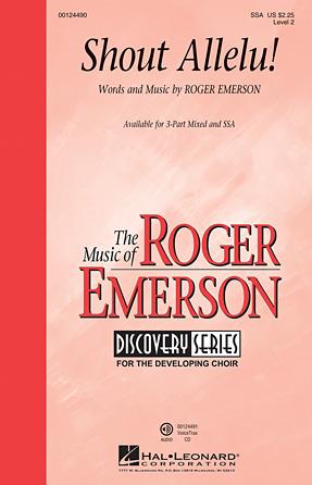 Shout Allelu! : SSA : Roger Emerson : Roger Emerson : Sheet Music : 00124490 : 884088967802