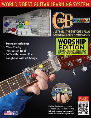 Product Cover for ChordBuddy Guitar Learning System – Worship Edition