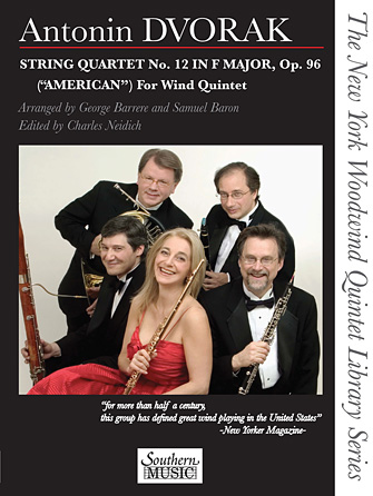 "Product Cover for String Quartet No. 12 in F Major, Op. 96 (""American"") for Wind Quintet"