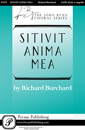 Product Cover for Sitivit anima mea
