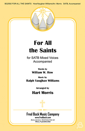 For All the Saints : SATB : Hart Morris : Ralph Vaughan Williams : Sheet Music : 00125120 : 884088988203