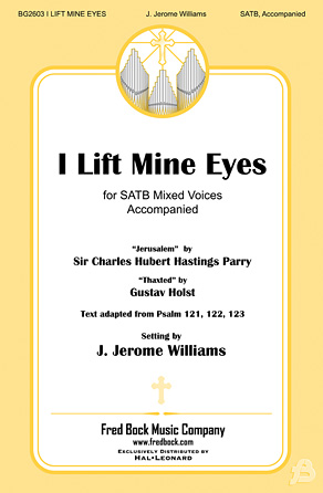 Product Cover for I Lift Mine Eyes