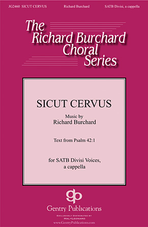 Product Cover for Sicut Cervus