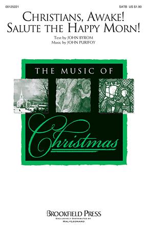 Christians, Awake! Salute the Happy Morn! : SATB : John Purifoy : John Purifoy : Sheet Music : 00125221 : 884088988852