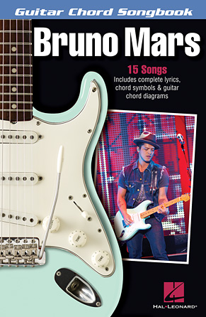 Product Cover for Bruno Mars – Guitar Chord Songbook