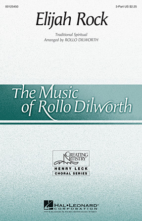 Elijah Rock : SSA : Rollo Dilworth : Sheet Music : 00125450 : 884088990909