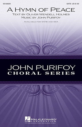 A Hymn of Peace : SATB : John Purifoy : John Purifoy : Sheet Music : 00126029 : 884088994044
