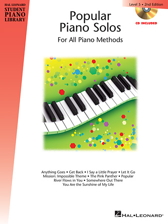 Product Cover for Popular Piano Solos – 2nd Edition – Level 5
