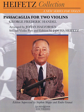 Product Cover for Passacaglia for Two Violins
