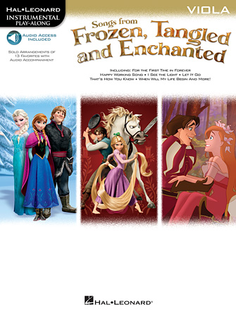 Product Cover for Songs from Frozen, Tangled and Enchanted