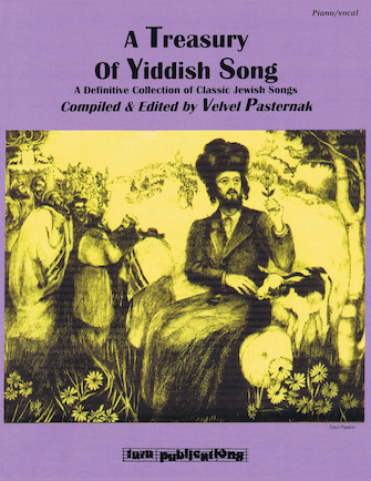 Product Cover for A Treasury of Yiddish Song