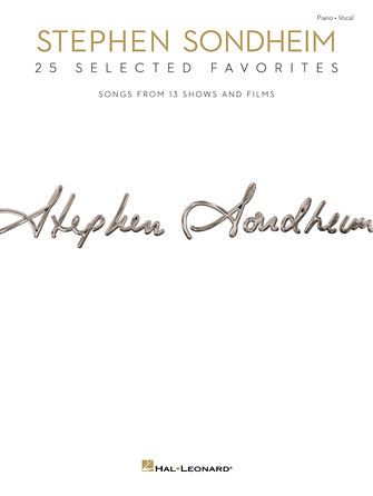 Product Cover for Stephen Sondheim – 25 Selected Favorites