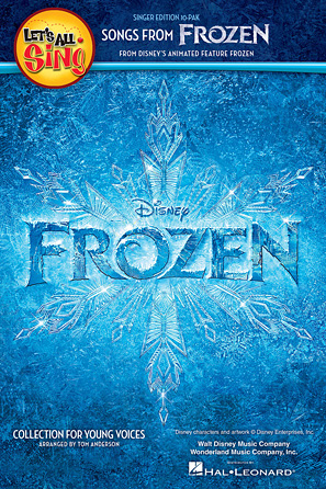 Product Cover for Let's All Sing Songs from Frozen