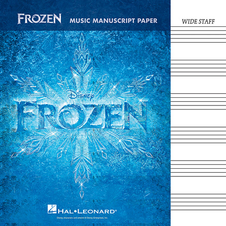 Product Cover for Frozen – Music Manuscript Paper