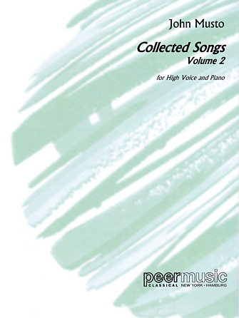 Product Cover for Collected Songs for High Voice – Volume 2