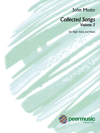Product Cover for Collected Songs for High Voice – Volume 3