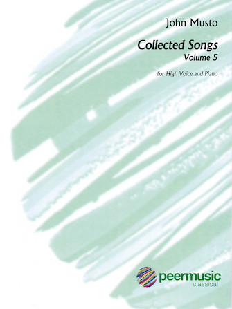 Product Cover for Collected Songs for High Voice – Volume 5