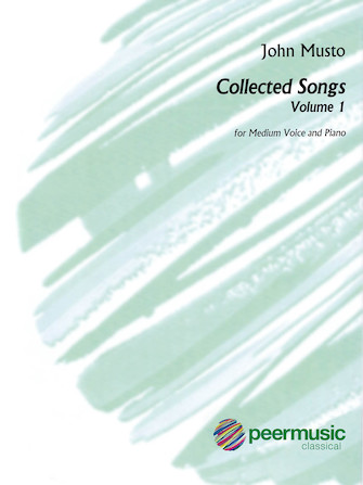 Product Cover for John Musto – Collected Songs: Volume 1