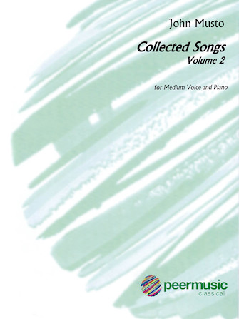 Product Cover for John Musto – Collected Songs: Volume 2