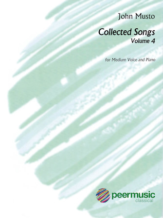 Product Cover for John Musto - Collected Songs: Volume 4