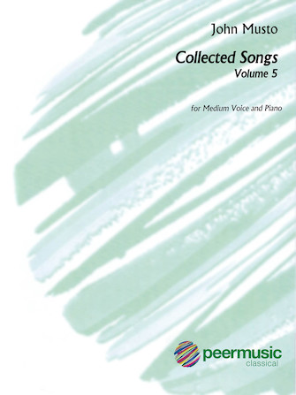 Product Cover for John Musto - Collected Songs: Volume 5