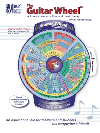 Product Cover for The Guitar & Music Theory Wheel