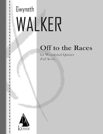 Product Cover for Off to the Races for Woodwind Quintet, Full Score