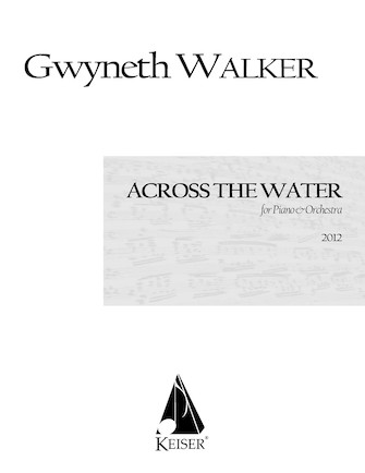 Product Cover for Across the Water: Songs for Piano and Chamber Orchestra