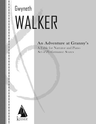 Product Cover for An Adventure at Granny's: a Fable for Narrator and Piano