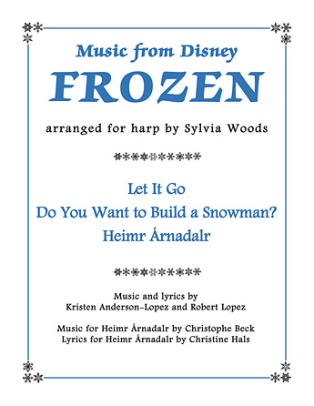 Product Cover for Music from Disney's Frozen for Harp