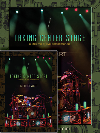 Neil Peart: Taking Center Stage Combo Pack