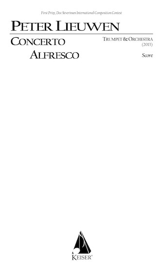 Product Cover for Concerto Alfresco for Trumpet and Chamber Orchestra, Full Score